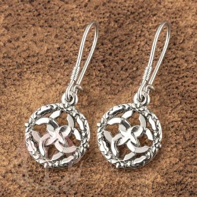 Серьги - Свадебники из серебра