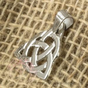 Трикветр из серебра